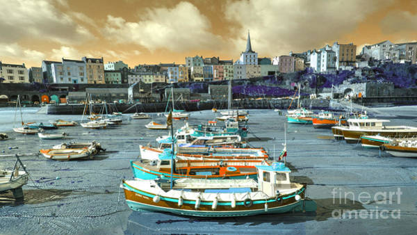 West Wales Photograph - Tenby Experimental by Rob Hawkins