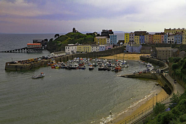 Photograph - Tenby Harbour by Tony Murtagh