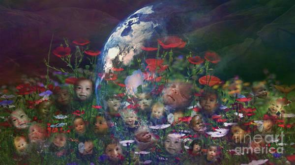 Digital Art - Tend This Garden 2015 by Kathryn Strick