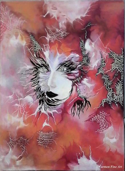 Tender Demon  Art Print