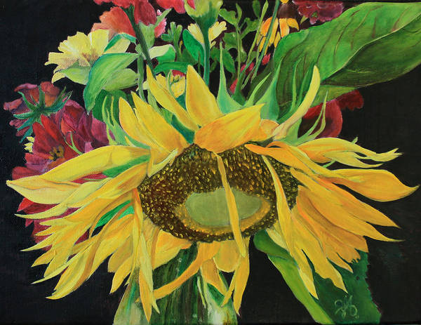 Clarity Painting - Tender Mercies by Nila Jane Autry