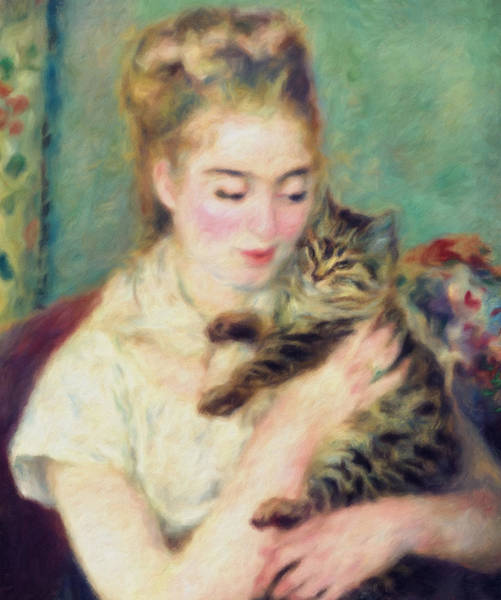 Painting - Tenderness Of A Woman by Isabella Howard