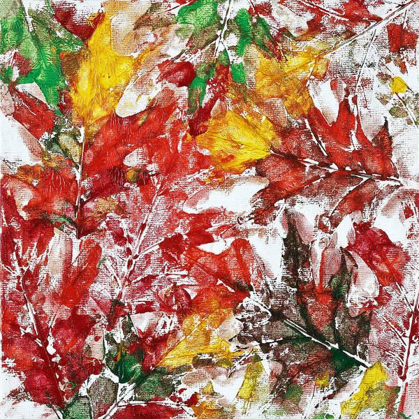 Tenderness Of Autumn Art Print