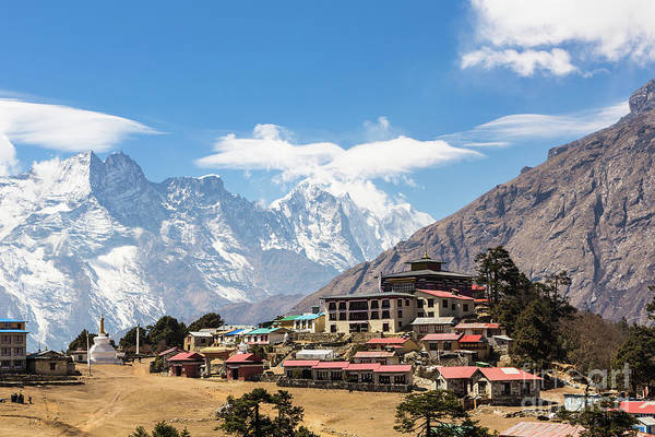 Photograph - Tengboche Monastery In Nepal by Didier Marti