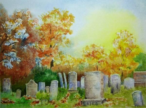 Tennant Cemetery New Jersey Art Print