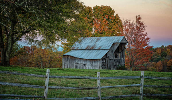 Photograph - Tennessee Barn by David Waldrop