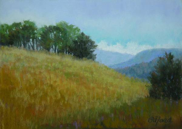 Wall Art - Painting - Tennessee Field View by Paula Ann Ford
