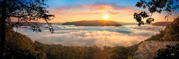 Photograph - Tennessee River Gorge Morning Fog by Steven Llorca
