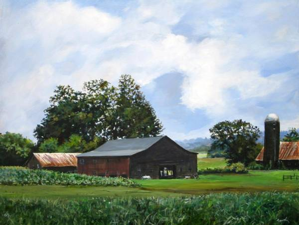 Painting - Tennessee Sky by William Brody
