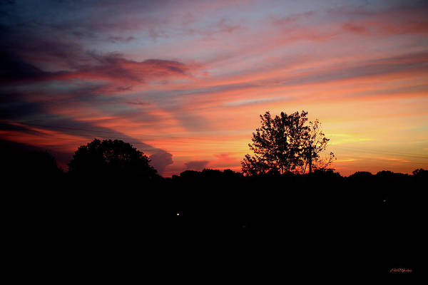 Photograph - Tennessee Sunset 305 by Ericamaxine Price