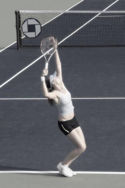 Photograph - Tennis Art- Daniela Hantuchova by Steven Sparks