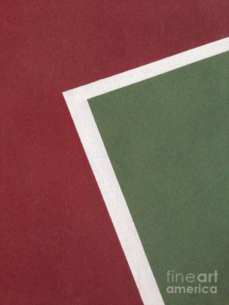 Photograph - Tennis Court Lines by Bryan Mullennix