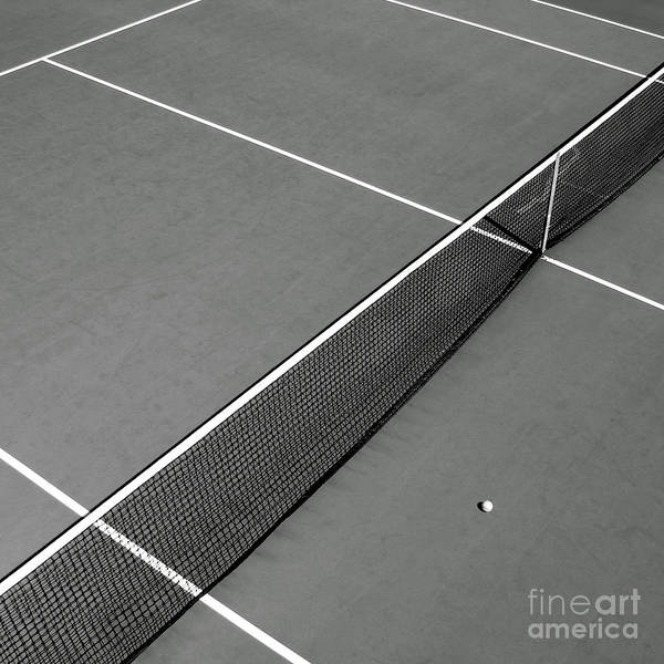 Photograph - Tennis Court by Olivier Le Queinec