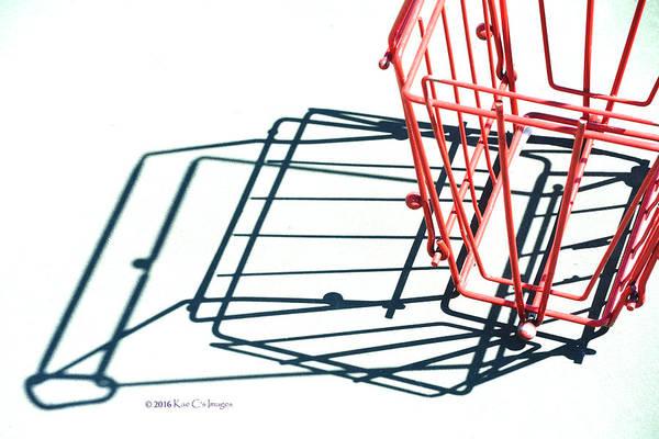 Photograph - Tennis Court Pickup Basket by Kae Cheatham