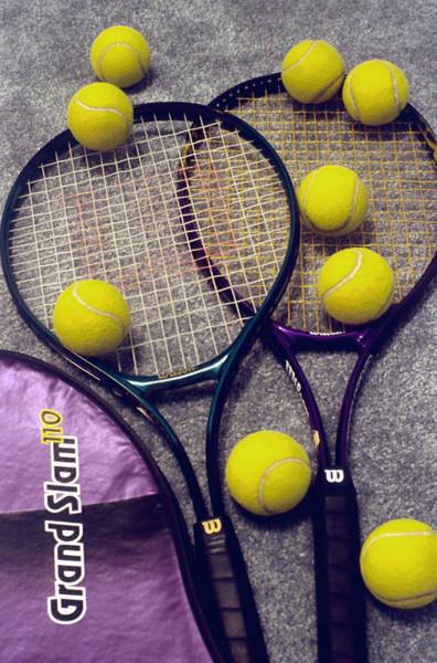 Fun Wall Art - Photograph - Tennis Still Life 2 by Steve Ohlsen
