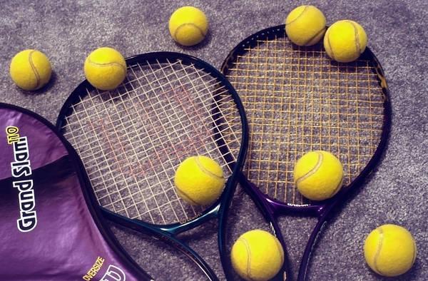 Fun Wall Art - Photograph - Tennis Still Life 3 by Steve Ohlsen