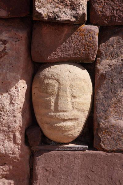 Photograph - Tenon Head In The Sunken Temple by Aidan Moran