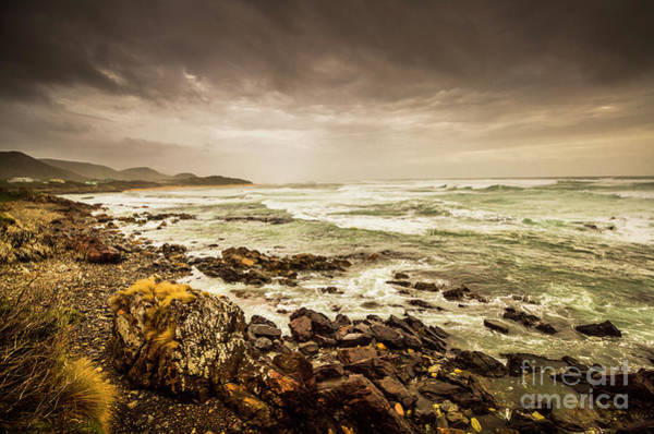 West Bay Photograph - Tense Seas by Jorgo Photography - Wall Art Gallery