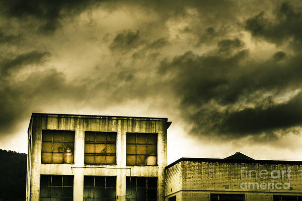 Demolition Wall Art - Photograph - Tension Building by Jorgo Photography - Wall Art Gallery