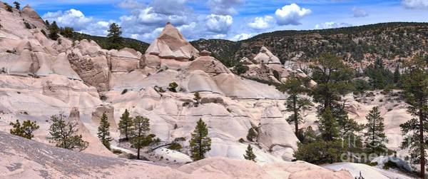 Photograph - Tent Rock Canyon Panorama by Adam Jewell