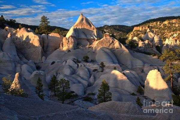 Photograph - Tent Rock Sunset by Adam Jewell
