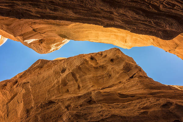 Wall Art - Photograph - Tent Rocks Slot Canyon 3 - Tent Rocks National Monument New Mexico by Brian Harig