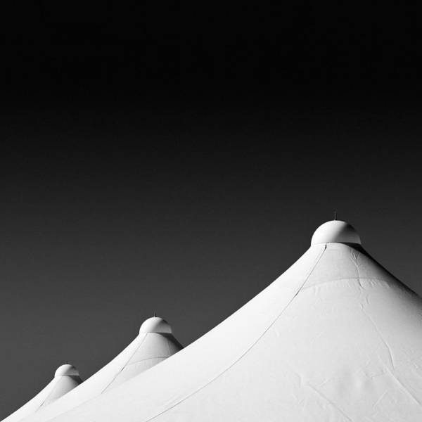 Photograph - Tent Tops by Dave Bowman