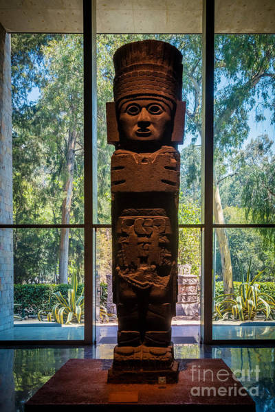 Photograph - Teotihuacan Figure by Inge Johnsson