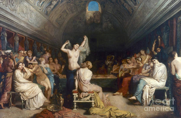 Tepidarium Painting - Tepidarium, 1853 by Granger