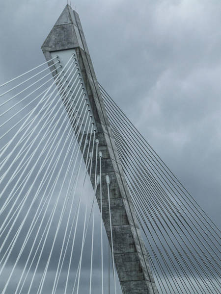 Photograph - Terenez Bridge IIi by Helen Northcott