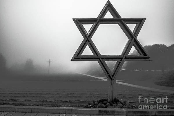Terezin Photograph - Terezin  Memorial by Tom Pope