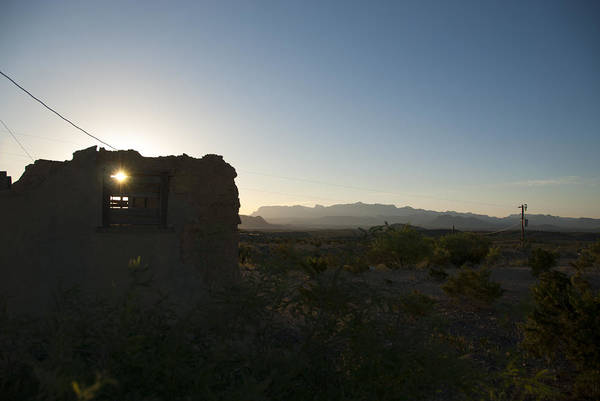 Lost River State Park Wall Art - Photograph - Terlingua Ruins by Kevin Bain