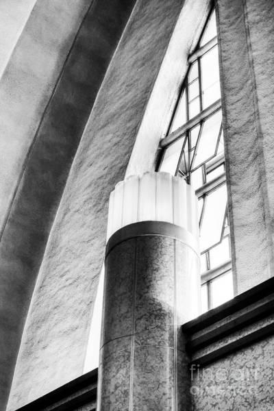 Photograph - Terminal Art 2 Bw by Mel Steinhauer