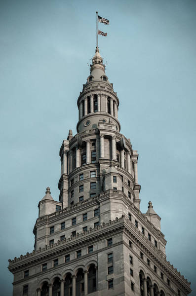 Photograph - Terminal Tower Icon by Stewart Helberg