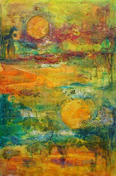 Painting - Terra Firma 2 by Jillian Goldberg