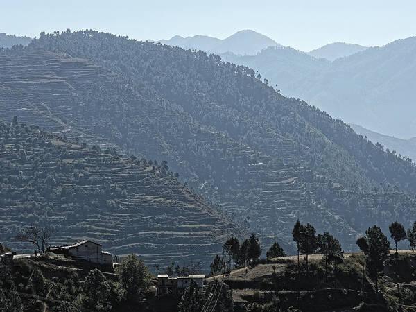 Photograph - Terraces, India 2010 by Chris Honeyman