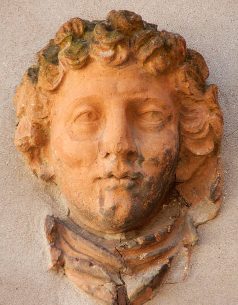Wall Art - Photograph - Terracotta Face In Venice by Michael Henderson