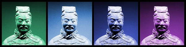 Photograph - Terracotta Warrior Army Of Qin Shi Huang Di - Gbiv by Richard Reeve