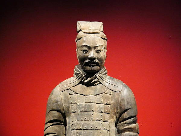 Photograph - Terracotta Warrior Army Of Qin Shi Huang Di I by Richard Reeve