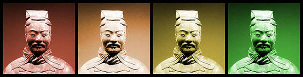 Photograph - Terracotta Warrior Army Of Qin Shi Huang Di - Royg by Richard Reeve