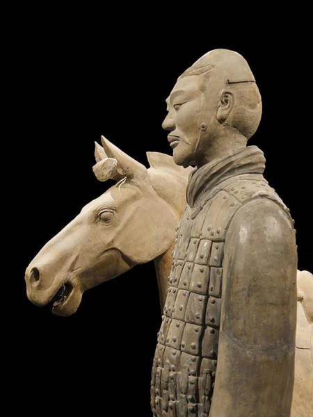 Photograph - Terracotta Warrior Army Of Qin Shi Huang Di V by Richard Reeve