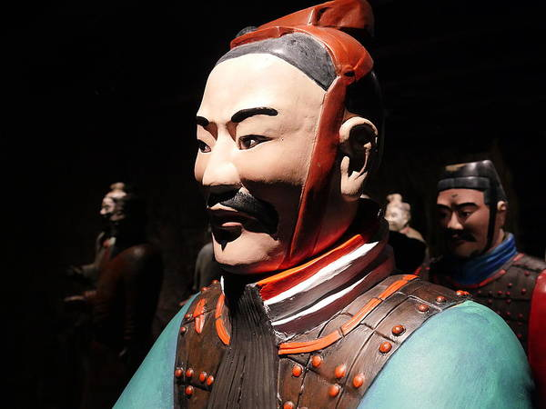 Photograph - Terracotta Warrior Army Of Qin Shi Huang Di Viii by Richard Reeve
