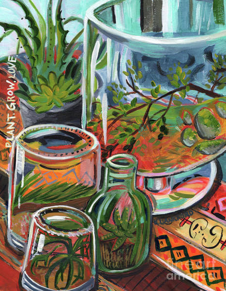 Washington D.c Painting - Terrariums by Kristy Lankford