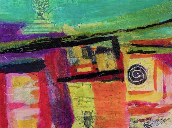 Sacred Heart Mixed Media - Terrascape by Cheryl Gaines