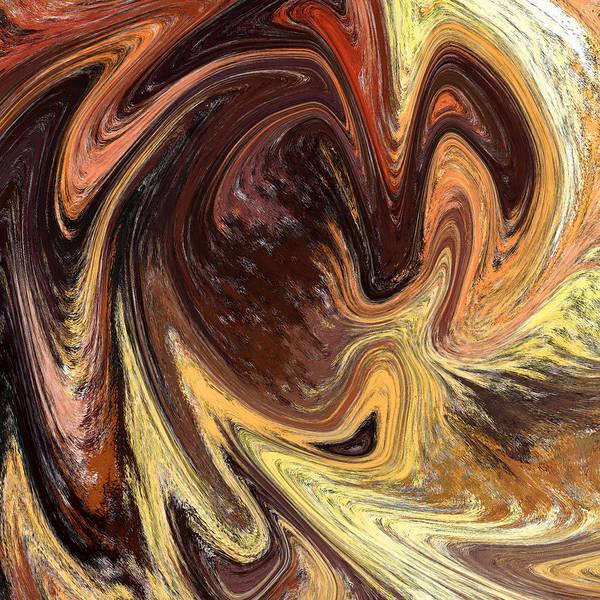 Painting - Terrestrial Vortex Abstract by Irina Sztukowski