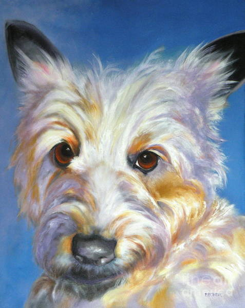 Painting - Terrier Time by Susan A Becker