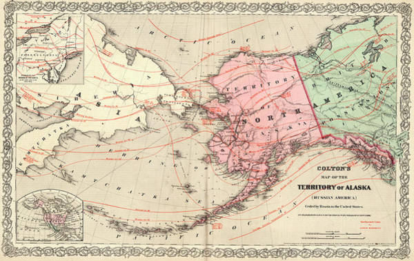 Wall Art - Painting - Territory Of Alaska by Colton