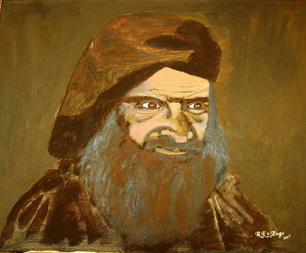 Painting - Terrorist by Richard Le Page