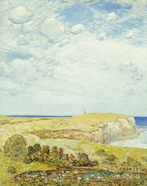 Wall Art - Painting - Montauk Point, 1922 by Childe Hassam