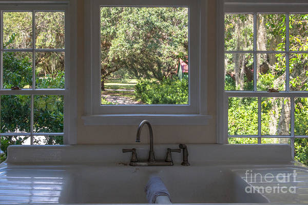 Photograph - Window Over The Sink by Dale Powell